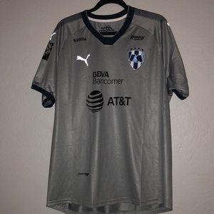 Monterrey soccer jersey